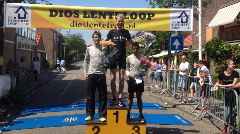 Kris kras door Den Hoorn bij de Dios Lenteloop