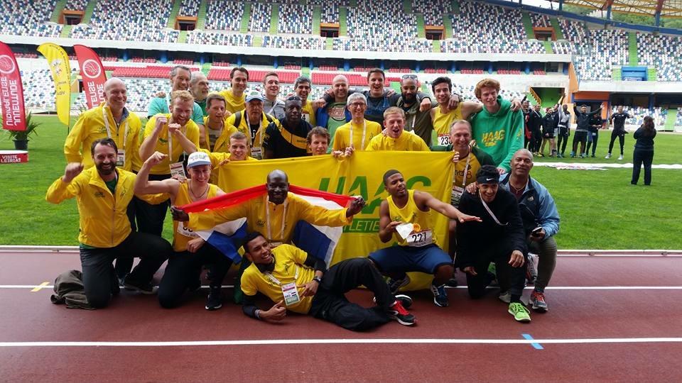 Europacup HAAG Atletiek Leiria 2016