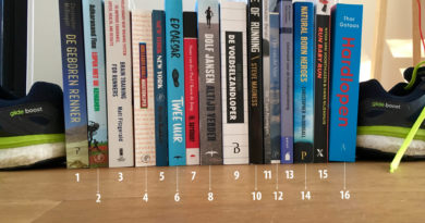 16 boeken over hardlopen plus 4 extra