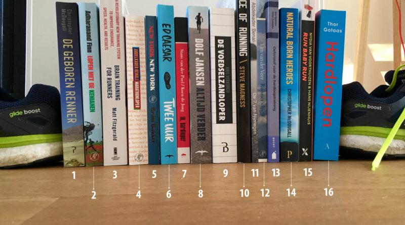 16 boeken over hardlopen door you-run.nl