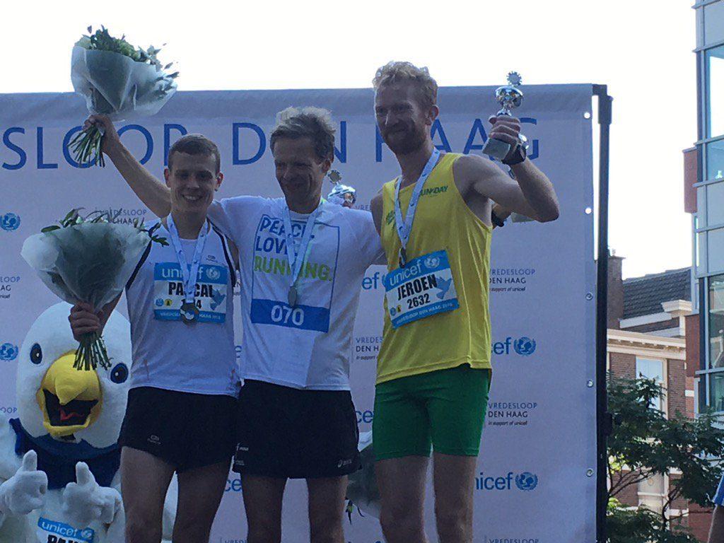Vredesloop 2016 podium