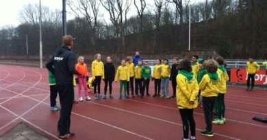 Cross training pupillen HAAG Atletiek