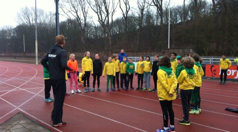 Cross training pupillen HAAG Atletiek