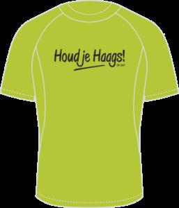 Run2Day CPC shirt Houd je Haags Heren
