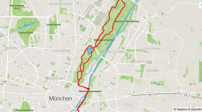 Hardlopen in Munchen