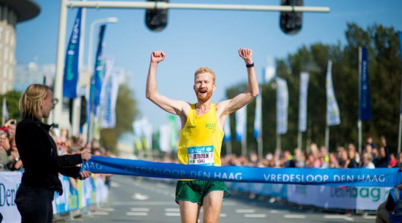 Jeroen van Aken wint Vredesloop Den Haag 2017 favoriete hardloopwedstrijd