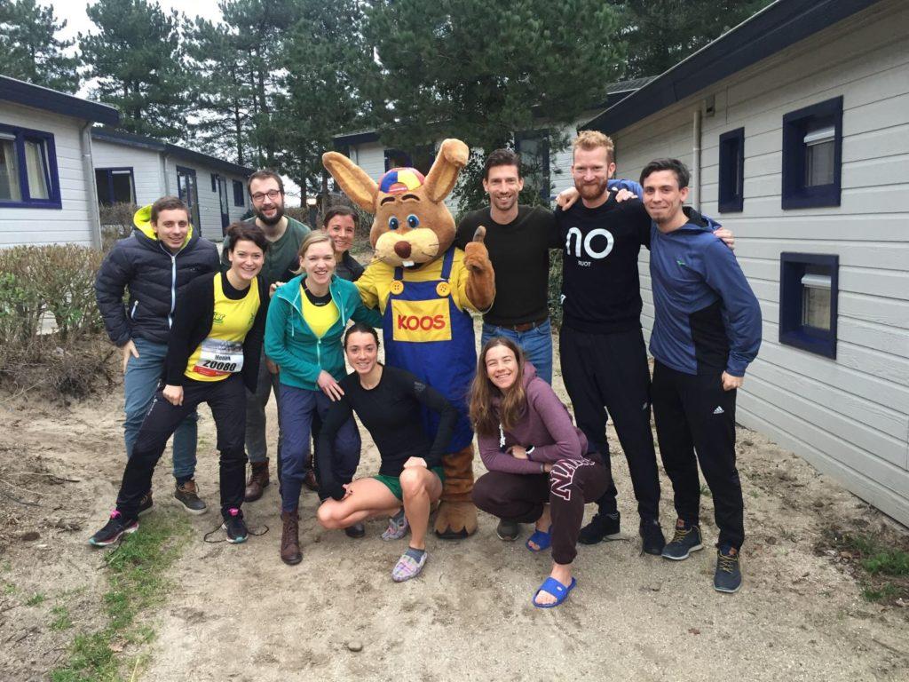 Egmond Halve Marathon 2018 groepsfoto