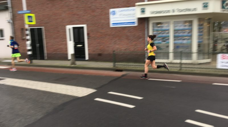 Moniek Egmond halve marathon 2018