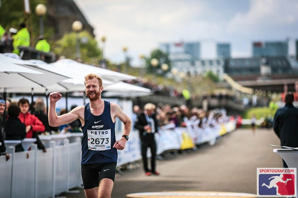 20190428 foto Dusseldorf marathon finish You-Run