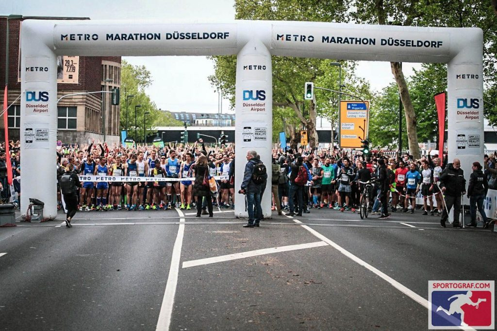 20190428 foto Dusseldorf marathon start You-Run