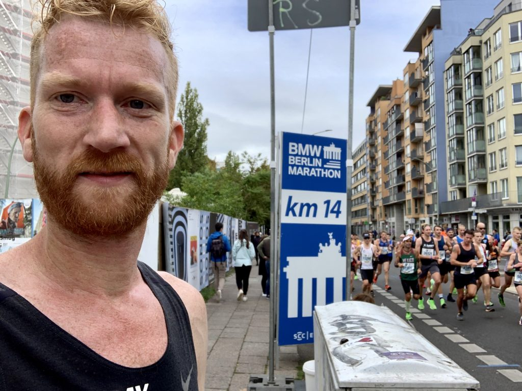 Marahton van Berlijn 14 km You-Run
