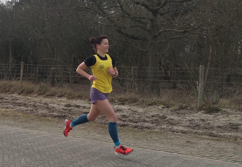 Moniek hardlopen Haagse Bluf - You-Run